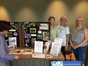 Chapter members at World Environment Day Botanic Gardens 6/4/16